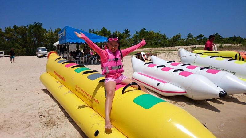壱岐マリンスポーツ バナナボート