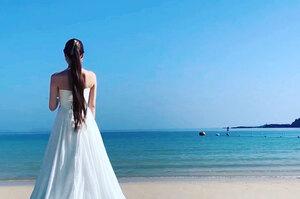 壱岐マリーナ ウエディングドレス 撮影
